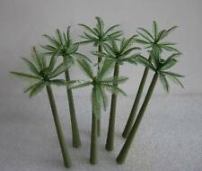 TDE70 100pcs Layout Model Train Palm Trees Scale N 7cm