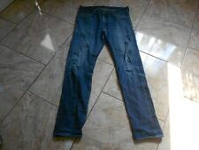 H9035 Levis 520 Sloutch Skinny Jeans W34 L34 Dark blue with Defects