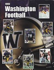 1999 WASHINGTON HUSKIES NCAA FOOTBALL MEDIA GUIDE