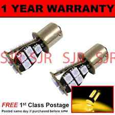 581 BAU15S PY21W XENON AMBER 18 SMD LED REAR INDICATOR LIGHT BULBS X2 RI201401