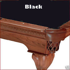 8' Black ProLine Classic Billiard Pool Table Cloth Felt - SHIPS FAST!