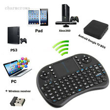 New Black 2.4G Mini Wireless Air Keyboard Mouse Remote Touchpad XBMC Smart TV PC