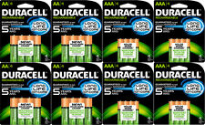 16 x AA 16 x AAA Duracell Long Life Ion Core Rechargeable Batteries DX2400 1.2v