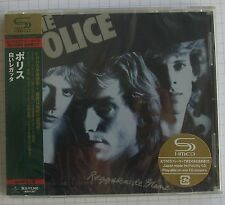 THE POLICE - Reggatta de Blanc JAPAN SHM CD OBI NEU RAR! UICY-90738 SEALED