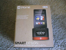 iHome Smart Design Clock, Radio And Charger For Kindle And Kindle Fire New!!!
