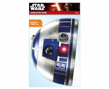 R2-D2 Official Star Wars Single 2D Card Party Face Mask - droid sci fi trilogy