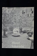 HENRI LAURENS BRONZE SCULPTURE ARTS COUNCIL EXHIBITION CATALOGUE 19890