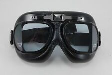 Emgo Roadhawk Goggles Harley Davidson Chopper Bobber Custom Riding Motorcycle