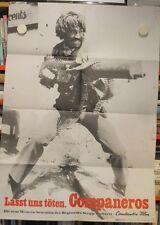 LASST UNS TÖTEN, COMPANEROS Poster Plakat SERGIO CORBUCCI Franco Nero B-Motiv