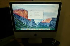 "Apple iMac 20"" Mid 2009 Core 2 Duo 2.0ghz 2GB RAM 160GB HDD OSX El Capitan #7"