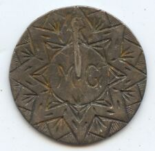 Love Token English 3P (#6726). Previously Mounted on Stick Pin?. Carefully Check