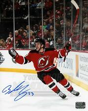 Bobby Farnham New Jersey Devils Signed Autographed Home Action 8x10