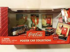 Coca Cola Johnny Lightning Poster Car Collection 1:64 Scale Diecast