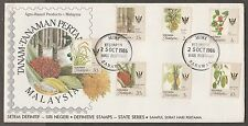 FDC Sarawak Agro- based definitive state series old crest 25.10.1986