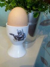 STAR WARS Boba Fett SINGLE WHITE CERAMIC EGGCUP  EGG CUP