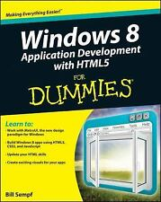Windows 8 Application Development with HTML5 For Dummies-ExLibrary