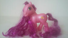 PETIT PONEY MY LITTLE PONY G3 - SILVER SONG WITH SUPER LONG HAIR - HASBRO 2002