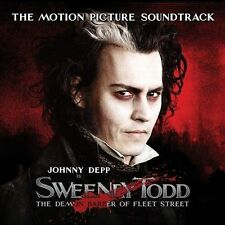 Sweeney Todd -The Motion Picture Soundtrack [Deluxe] (CD, 2007, Nonesuch)