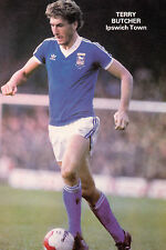 Football Photo TERRY BUTCHER Ipswich Town 1970s