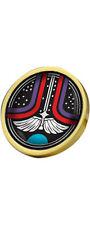 The Last Starfighter Gold Plated 28mm Pin Badge