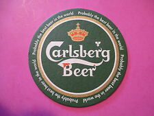Coaster ~ CARLSBERG Brewery ~ Copenhagen ~*~ Probably the Best Beer in the World