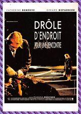 Carte postale Affiche de Film - DRÔLE D'ENDROIT POUR UNE RENCONTRE