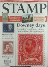 Stamp Magazine UK Feb 2017 Downey Days Postal King George V FREE SHIPPING sb