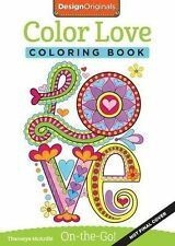 Color Love Travel Adult Colouring Book Creative Colour Art Therapy Calm Happy