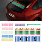Car Sticker Music Rhythm LED Flash Lamp Light Sound Activated Equalizer 5 Size