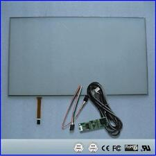 """18.5inch 424x243mm 4Wire Resistive Touch Screen Panel USB kit for 18.5"""" monitor"""