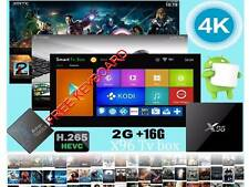 X96 Amlogic S905X cuatro núcleos 4K TV Box Android 6.0,2G/16G Kodi 16.1, + Free Keyboad