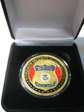 "U S DEPT OF HOMELAND SECURITY ""SPECIAL AGENT"" Challenge Coin w/ Gift Box"
