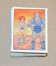 1986 PANINI Thundercats CHOOSE Any 5 stickers from the list