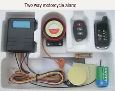 2 WAY PAGER MOTORCYCLE REMOTE START BIKE Anti theft Security Alarm system
