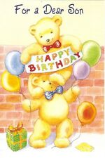 "Greeting Card - Birthday - ""FOR A DEAR SON"" - by Pacific Graphics!"