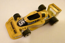 "Formel Formula 1 Racing car Renault RS 01 ""elf"" #15, Polistil 1:43, ca. 10,5 cm!"