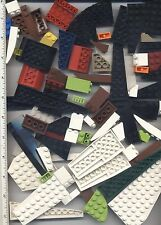 LEGO x 70 Wedge Slope Corner Pieces mixed lot colors
