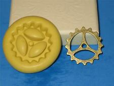 Steampunk Gear Silicone Push Mold A238 For Cake Pop Fondant Chocolate Resin