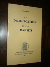LA DOMIFICATION ET LES TRANSITS - Max Duval 1987 - Astrologie