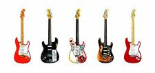 Famous Fender Stratocaster Guitars #1 Greeting Card, DL Size