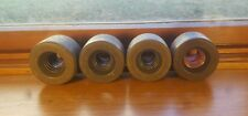 Vintage skateboard wheels Sims Gyros 65mm conical aluminum hub 70's old school