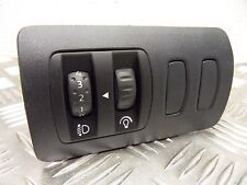 Renault Clio Mk3 2005 - 2012 1.2 TCE Headlight adjuster / dash dimmer switch
