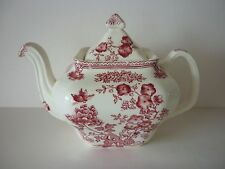 Mason's Ironstone Manchu Red Small Teapot - excellent