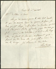 GENEALOGIE LETTRE COMMERCE TISSU ETS LOUIS TOUCAS TOULON 1816