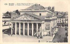 BR32184 Bruxelles Theatre Royal de la Monnaie belgium