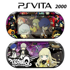 Vinyl Decal Skin Sticker for Sony PS Vita Slim 2000 Persona Q Shadow of Labyrint