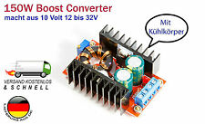 150w 10a Step-up Boost Power Converter para Arduino Raspberry Pi, High Power LED