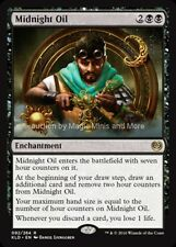 Kaladesh ~ MIDNIGHT OIL rare Magic card