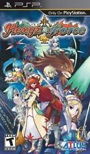 Hexyz Force (Sony Playstation PSP Portable Exclusive Fantasy RPG Video Game) NEW