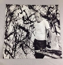 Jackson Pollock 1998 MOMA Retrospective Pamphlet - Near-Mint Condition